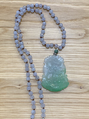 Genuine Burmese Jade Necklace