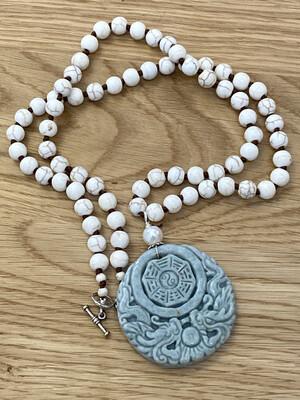 Jade Round Necklace