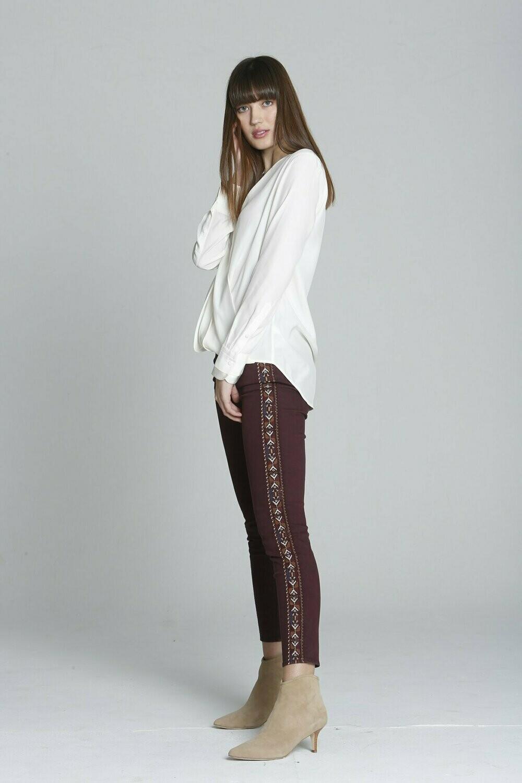 Driftwood Jackie Burgundy Denim Jeans