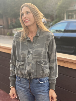 SPLENDID CAMO JEAN JACKET