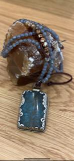 Resin Tibetin Moonstone-Agate