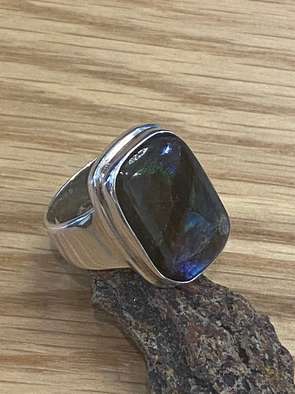 KI Ammolite 2 Ring 8