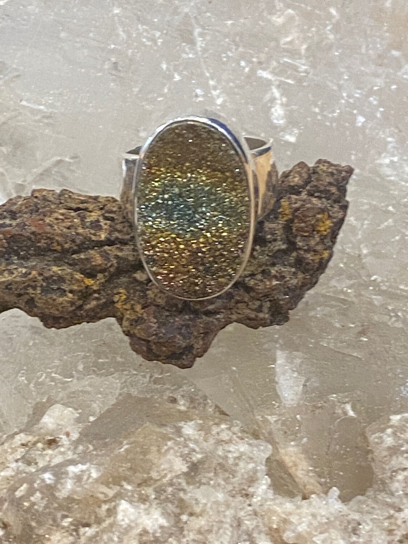 VG Strl Druzy Ring