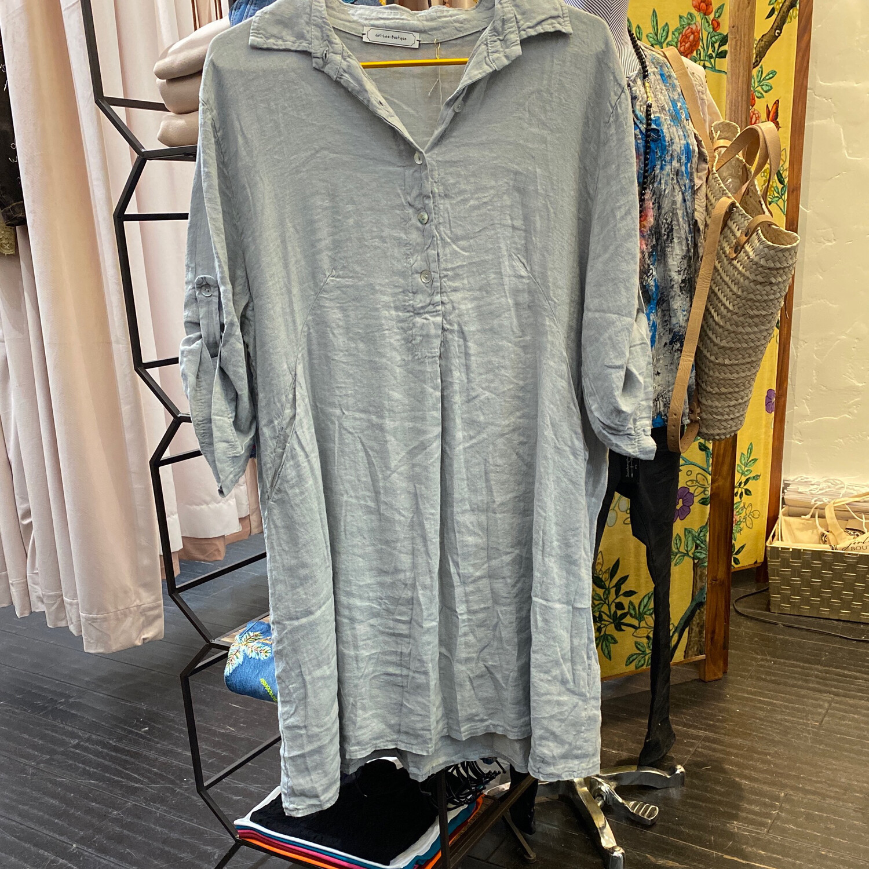 Girl-Lee Linen Tunic Dress