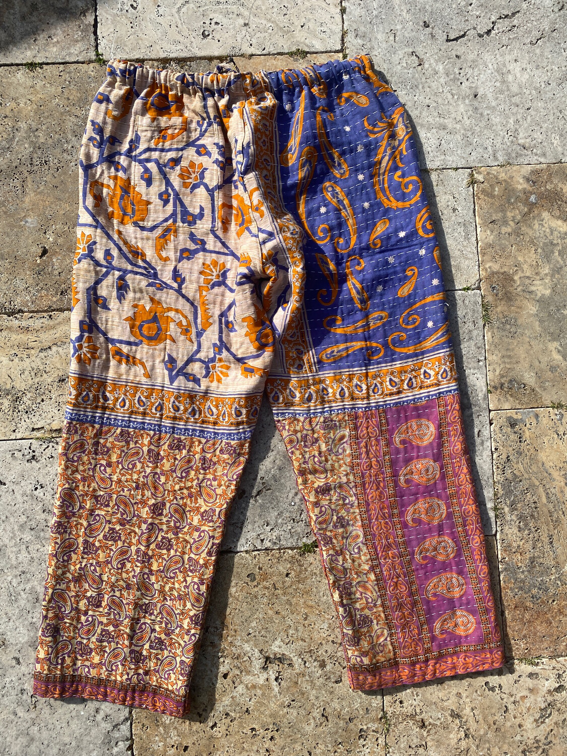 """ESIAAM """"The Lucille"""" Kantha Pants Large (2)"""
