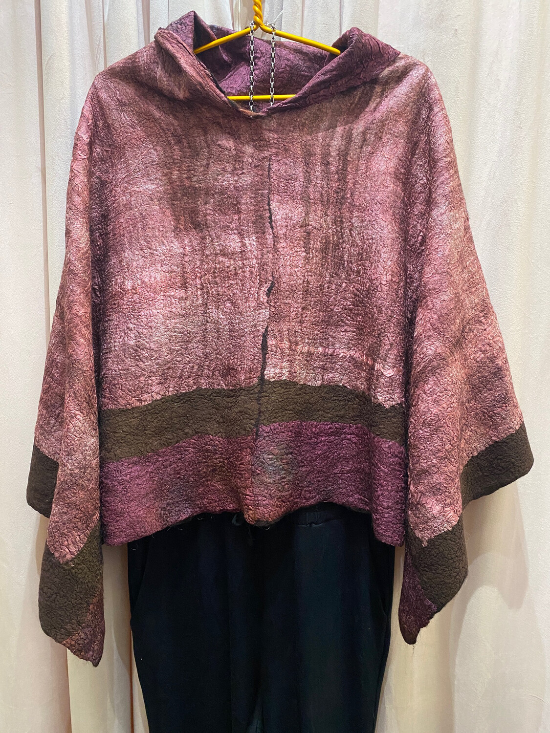 TFSWA Felted Reversible Ponchos
