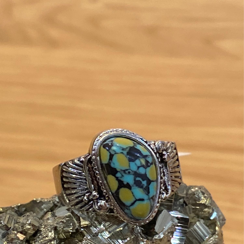 Turq 925 ring 7 a