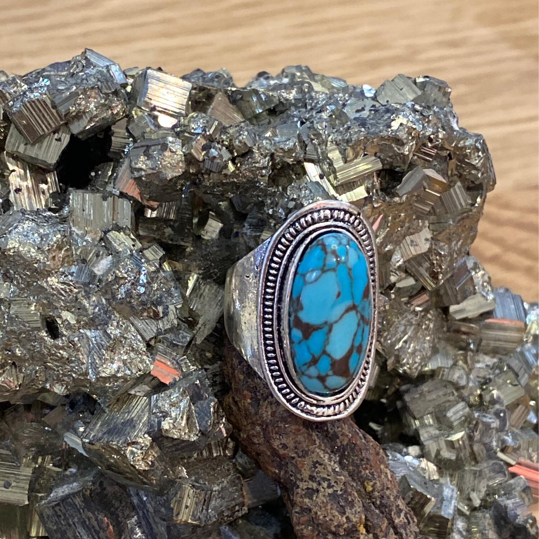 Turq 925 ring 9