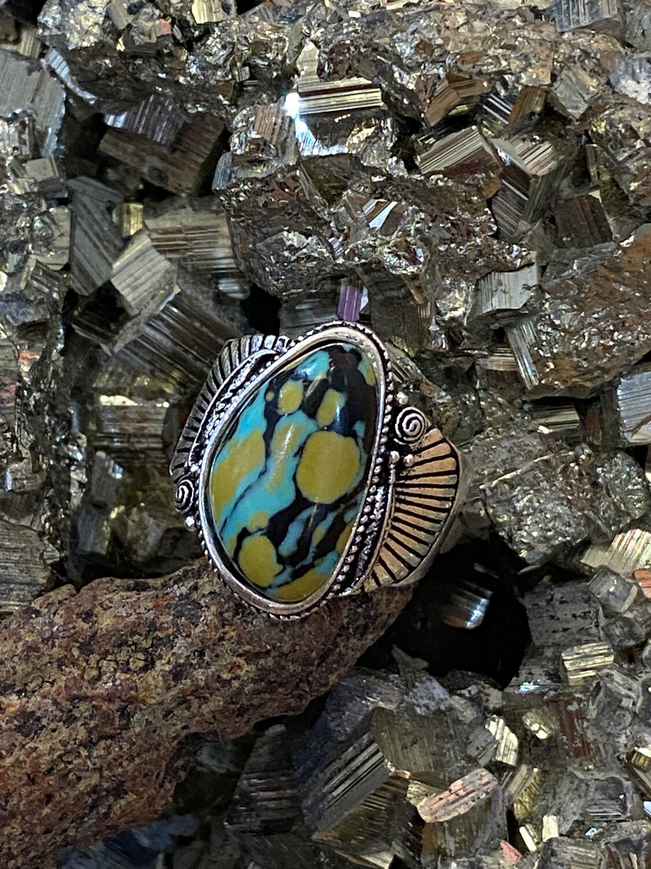 Turq 925 ring 9 a