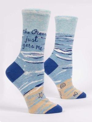 BQ The Ocean Gets Me Sock