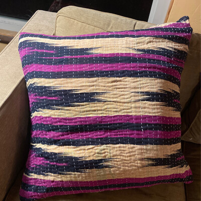 ESIAAM Large Slipcover & Feather Pillow