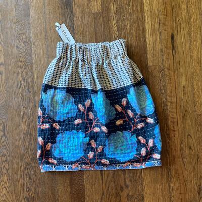 "ESIAAM ""The Amy"" Kantha Non-Reversible Skirt XS"