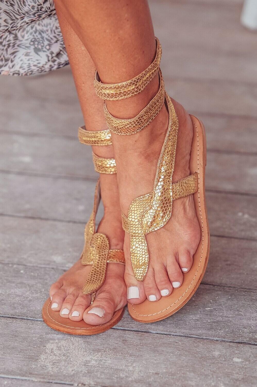 Cobra Sandal Gold