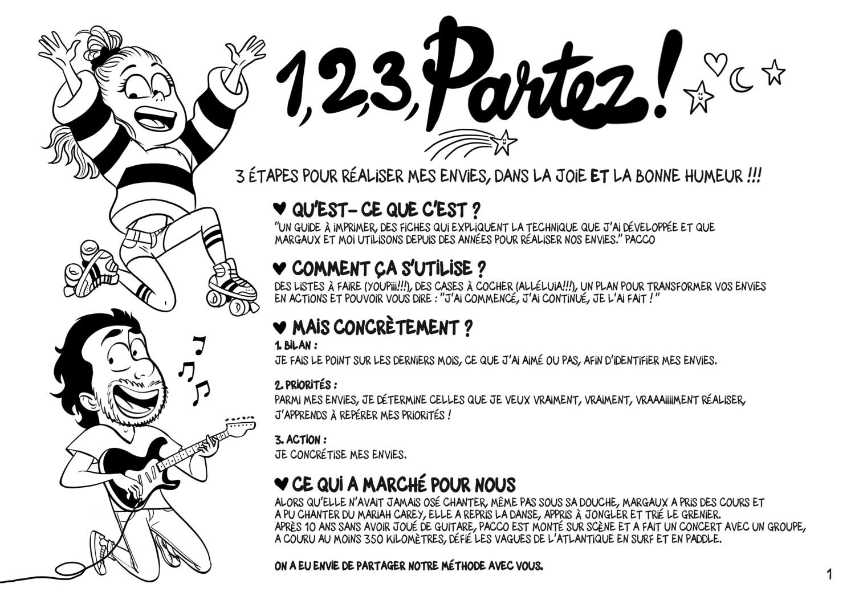1,2,3, Partez ! Par Pacco & Margaux