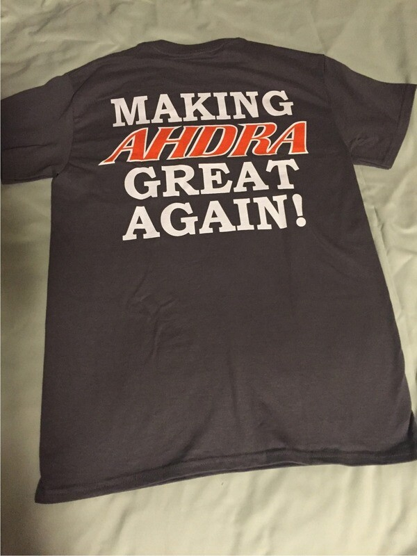 AHDRA Pocket T-Shirt Grey
