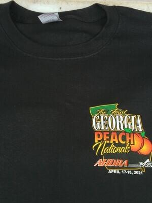 Atlanta Final Georgia Peach Nationals Event T Black