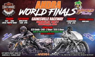 Gainesville World Finals Friday Night Test N Tune