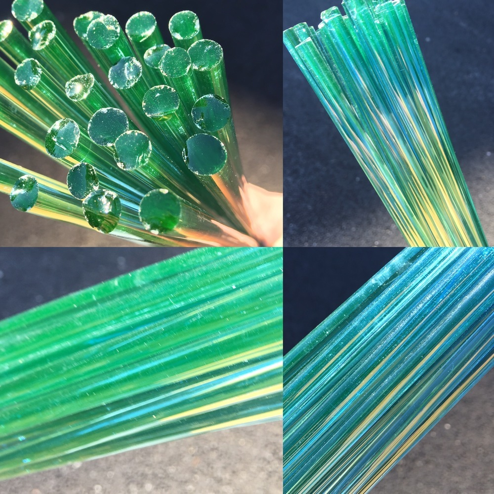 DayGlow Boro Rod (UV Reactive Blue)