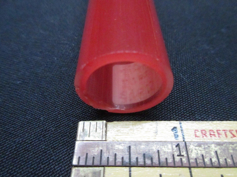 Pomegranate over Poppy Double Layer Boro Tubing (#4015 1.7oz ODD)