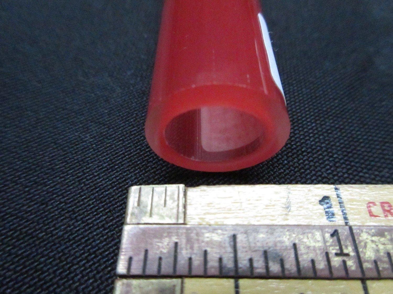 Pomegranate over Poppy Double Layer Boro Tubing (#4025 1.8oz ODD)