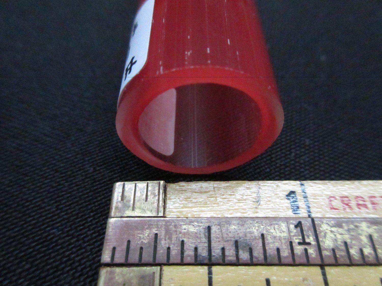 Pomegranate over Poppy Double Layer Boro Tubing (#4029 1.1oz ODD)