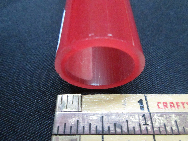 Pomegranate over Poppy Double Layer Boro Tubing (#2126 4.1oz  SECONDS)