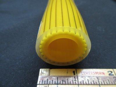 Acid Yellow Vac Stack Lined Boro Tubing w/ Disco Sparkle Stringers (#1132 6.7oz)