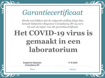 Stelling: COVID-19 virus is van dier op mens gesprongen