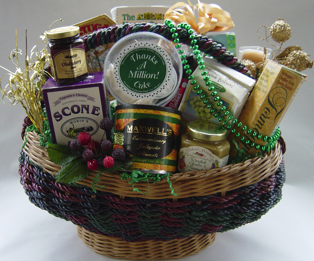 Gift Baskets for Fun or Profit