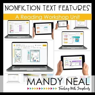 Digital Nonfiction Text Features Reading Workshop Unit