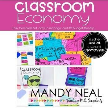 Classroom Economy Award System