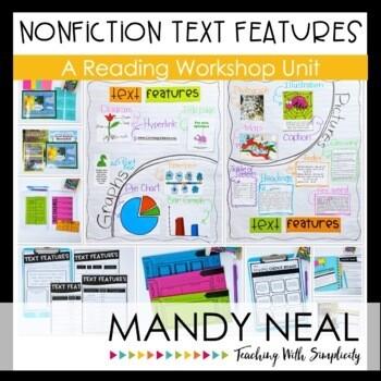 Printable Nonfiction Text Features Reading Workshop Unit