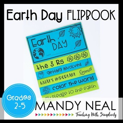 Printable Earth Day Flip Book