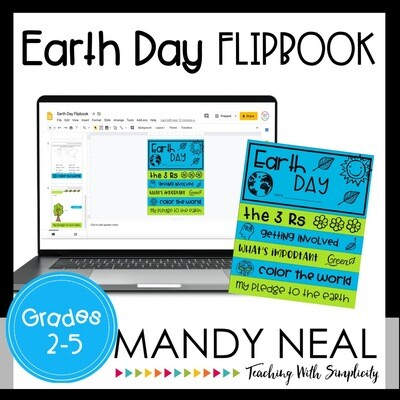 Digital Earth Day Flip Book