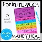 Poetry Writing Flipbook   Poetry Activities