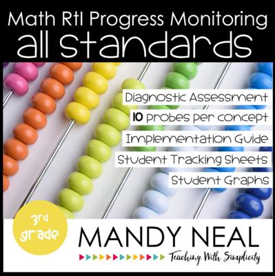 3rd Grade Math Intervention Assessments