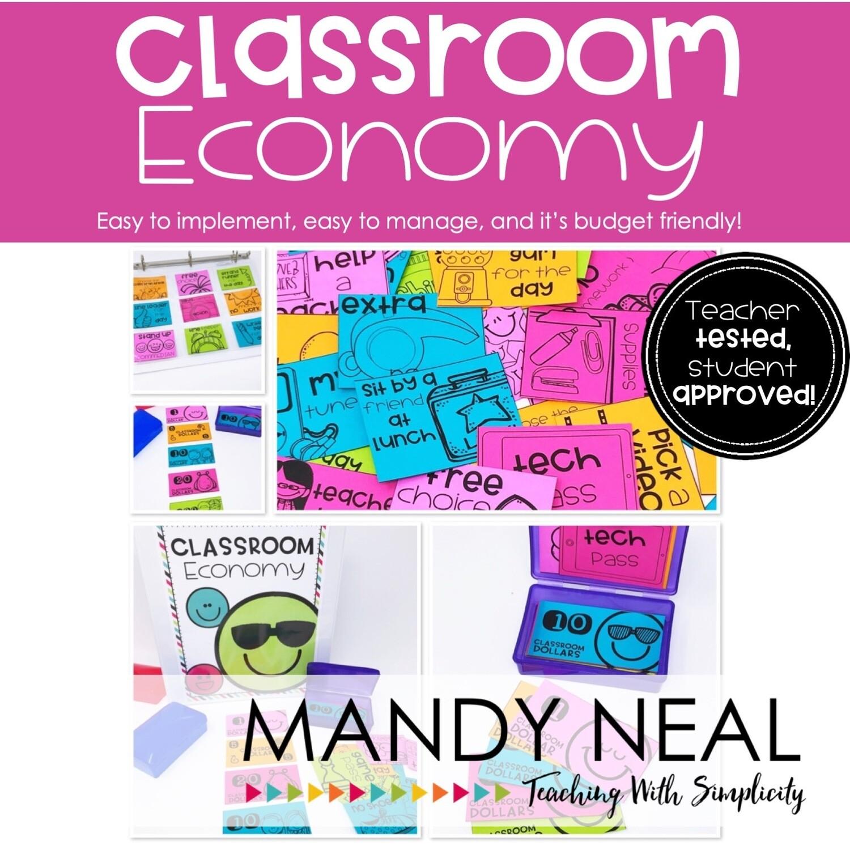 Classroom Economy   Award Coupons   Behavior Management