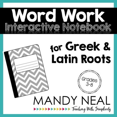 Greek and Latin Roots Interactive Notebook Activities