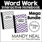 Greek and Latin Root Words, Prefixes, & Suffixes Interactive Notebook