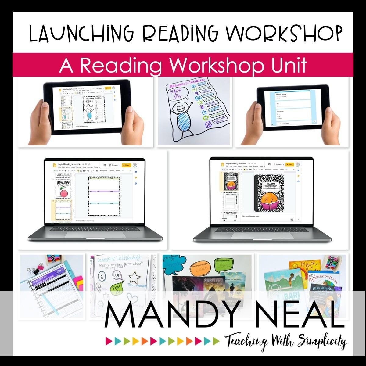 Digital Launching Reading Workshop in Grades 3-5