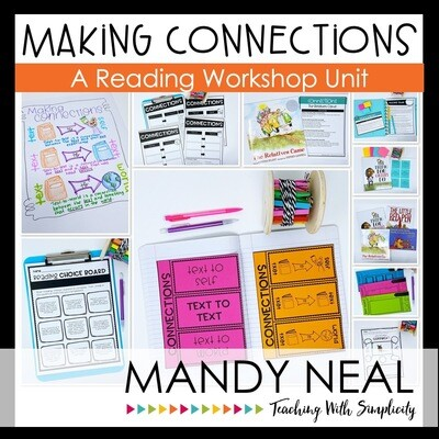 Making Connections Reading Workshop Unit (Printable)