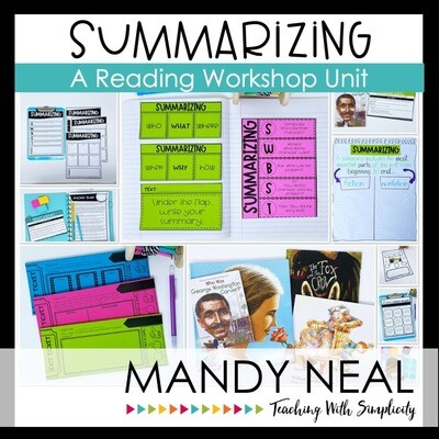 Summarizing Reading Workshop Unit (Printable)