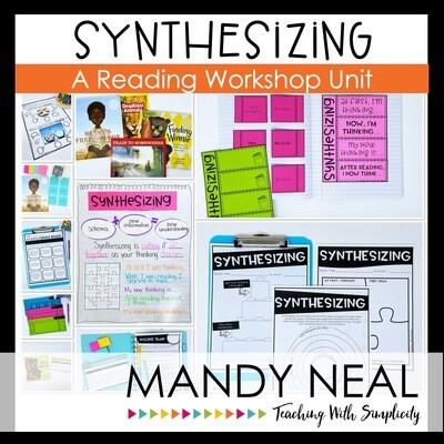Synthesizing Reading Workshop Unit (Printable)