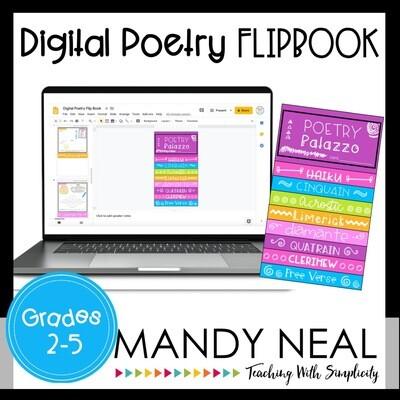 Digital Poetry Writing Flipbook