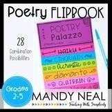 Poetry Writing Flipbook | Poetry Activities