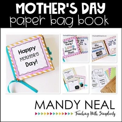 Mother's Day:  Paper Bag Book