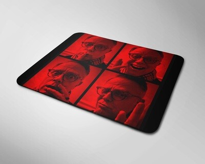 The Many Faces of Bill Russell - Mousepad