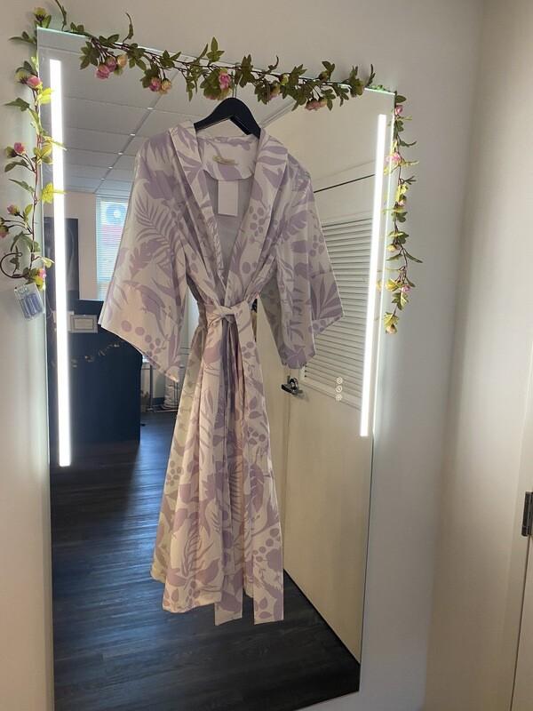 Lavish in lavender Kimono