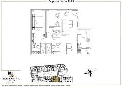 APARTADO B12 - $2,995,000 (2Rec-79m2-Nivel 1-RG)