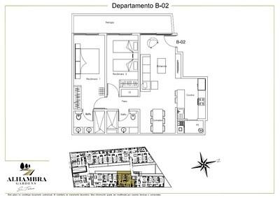 APARTADO B02 - $3,270,000 (2Rec-79m2+Tza12m2-Nivel PB-Terraza)